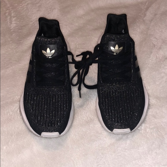 Black And Gold Adidas Sneakers | Poshmark